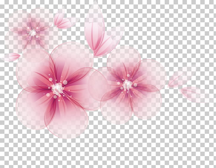 Watercolor Flowers Vector At Getdrawingscom Free For