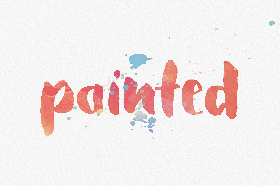 Watercolor Font at GetDrawings com | Free for personal use