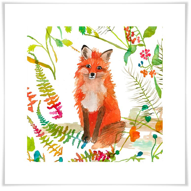 775x775 Woodland Watercolor