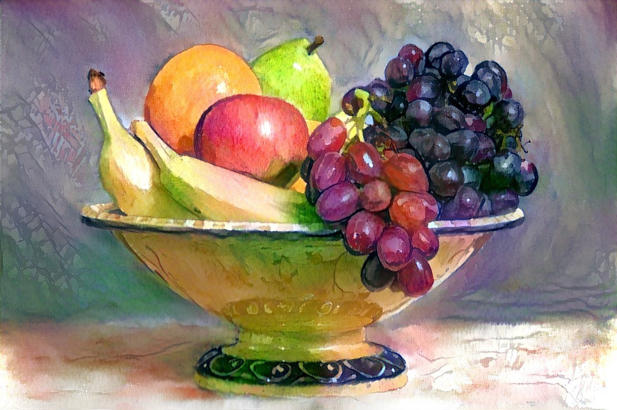 1200x799 Watercolor Painting Fruit Still Life Still Life Fruit Drawing At