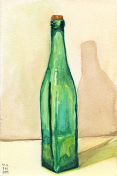 Watercolor Glass