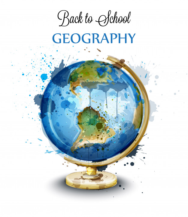 626x722 Watercolor Globe Isolated On White Vector Premium Download