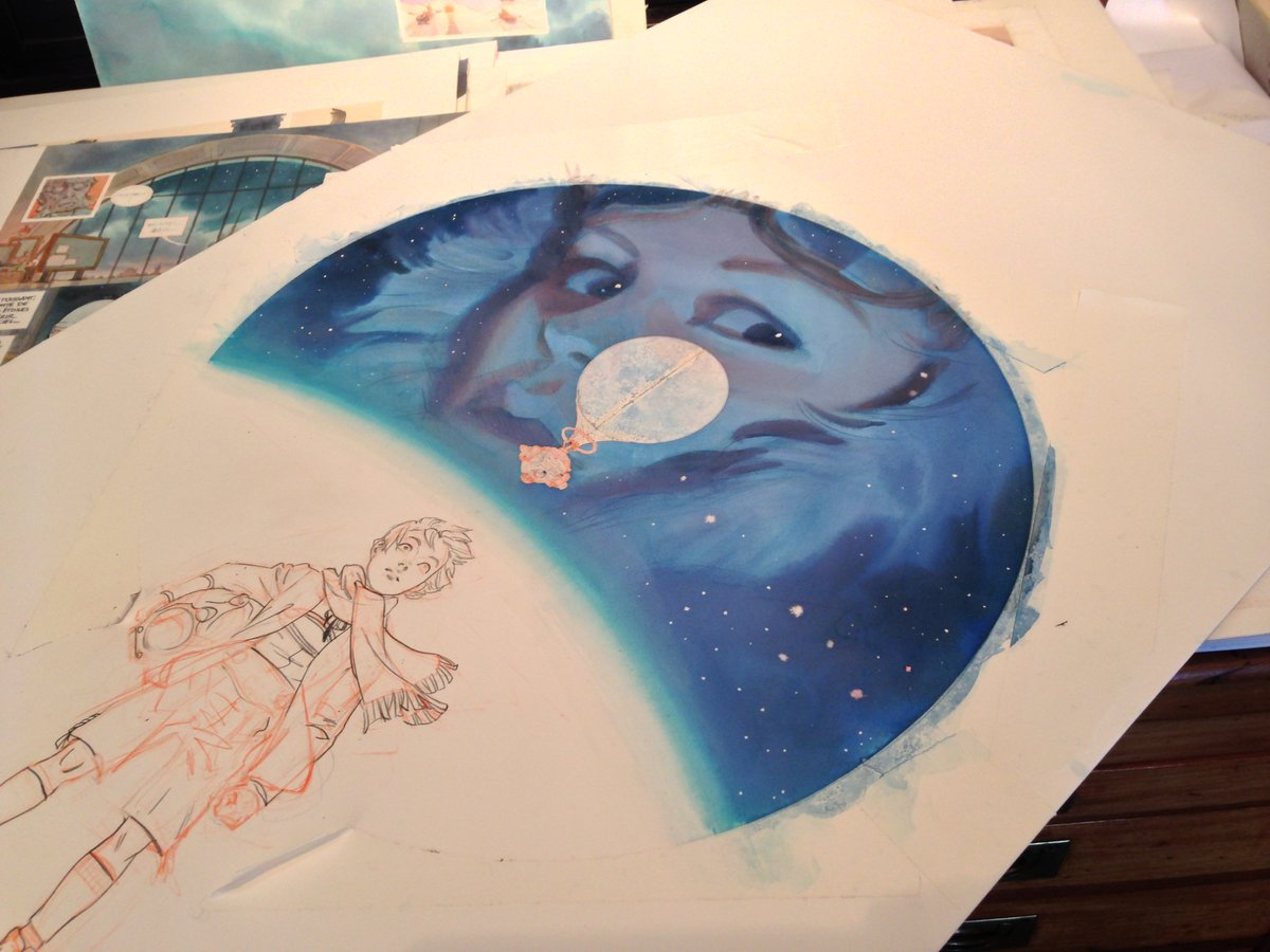 1200x900 First Second On Twitter Great Watercolor Art In Progress For
