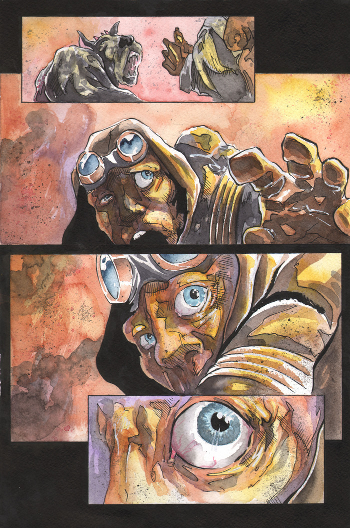 700x1055 Icarus The Graphic Novel Has Launched! Gregory A. Wilson