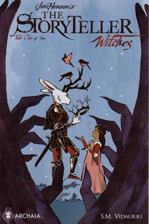 491x737 Jim Henson Storyteller Witches Regular Sm Vidaurri Cover (2014