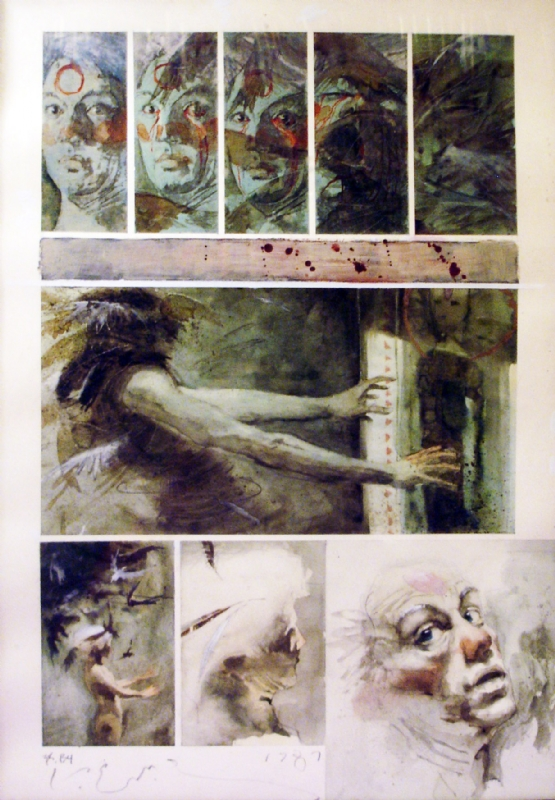 555x800 Kent Williams Blood Graphic Novel