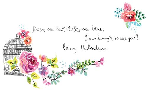 500x304 Watercolor Flower Wedding Invitation Vector Graphics 03 Free Download