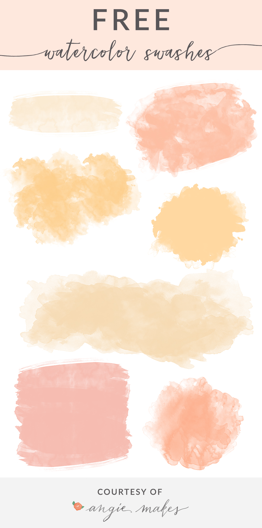 1000x2017 Free Girly Graphics And Watercolor Clip Art Angie Makes