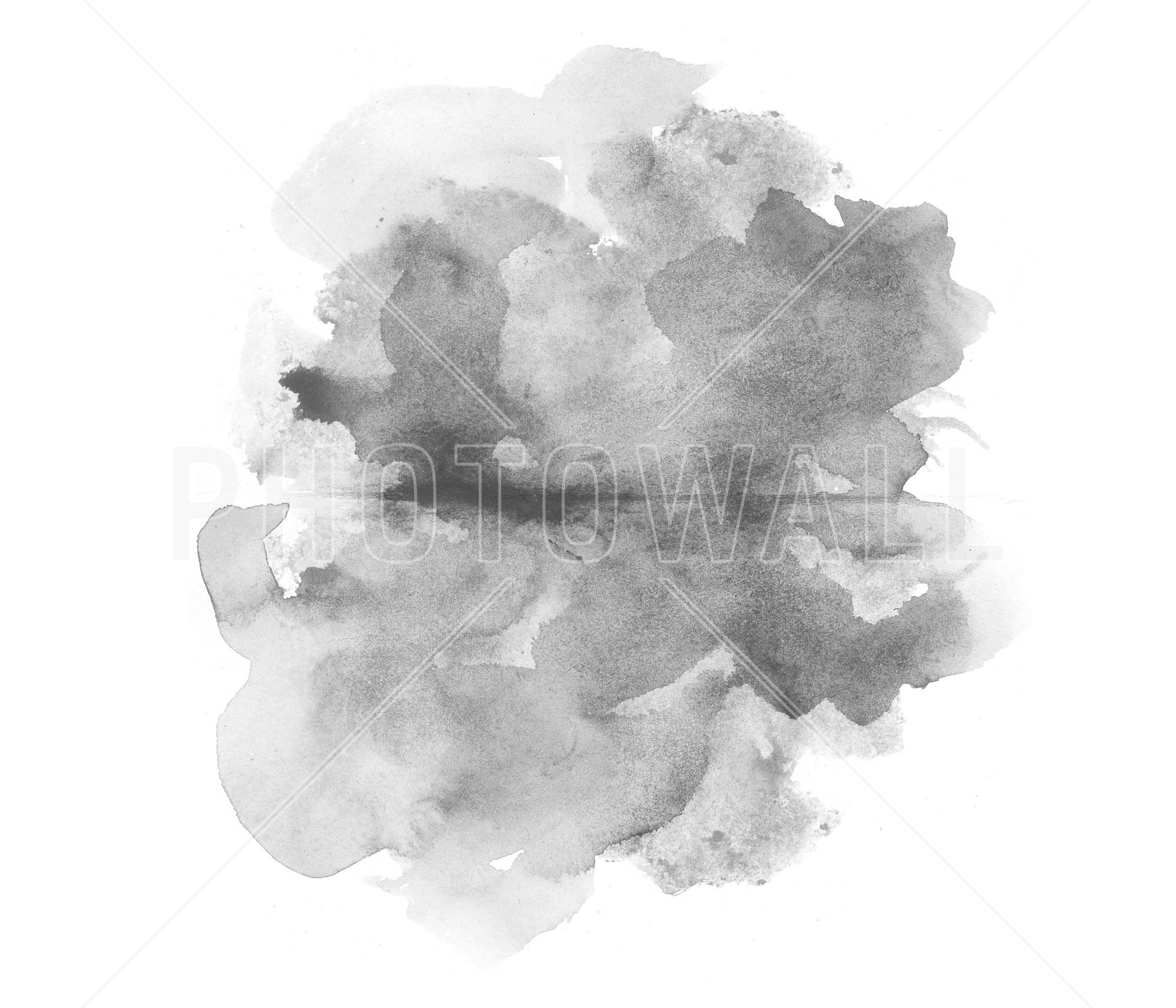 2000x1714 Grey Watercolor A Wall Mural For Every Room Photowall