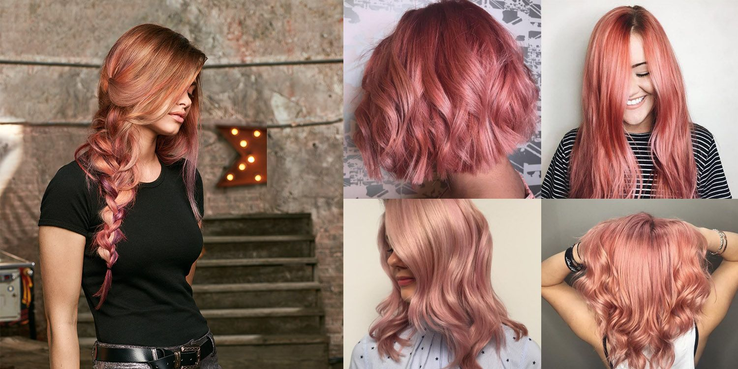 1500x750 How To Rock Rose Gold Hair Color This Summer Matrix