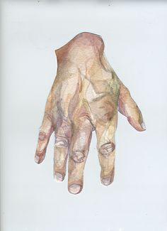 Watercolor Hands