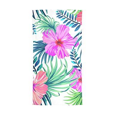 Watercolor Hawaiian Flowers