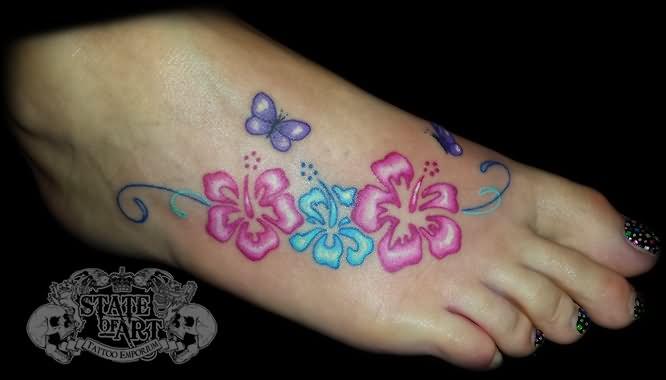 666x380 Hibiscus Tattoos