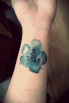 236x354 Watercolor Hibiscus Tattoo Tattoos Hibiscus Tattoo