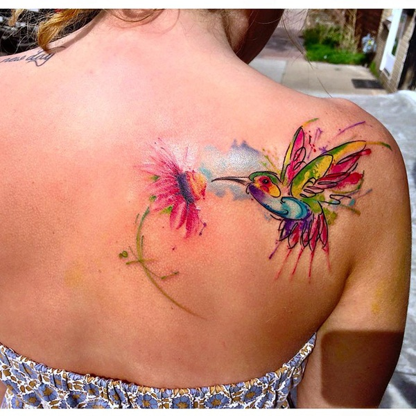 600x600 90 Watercolor Tattoo Ideas That Turn Skin Into Canvas