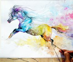 236x201 346 Best Horses In Watercolor Images In 2018