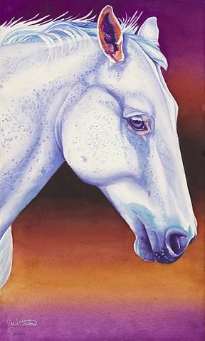 288x480 Horse Paintings Sinclair Stratton Artist