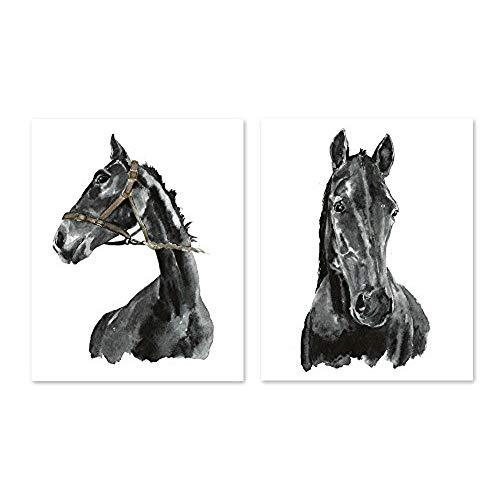 500x500 Horse Watercolor Paintings