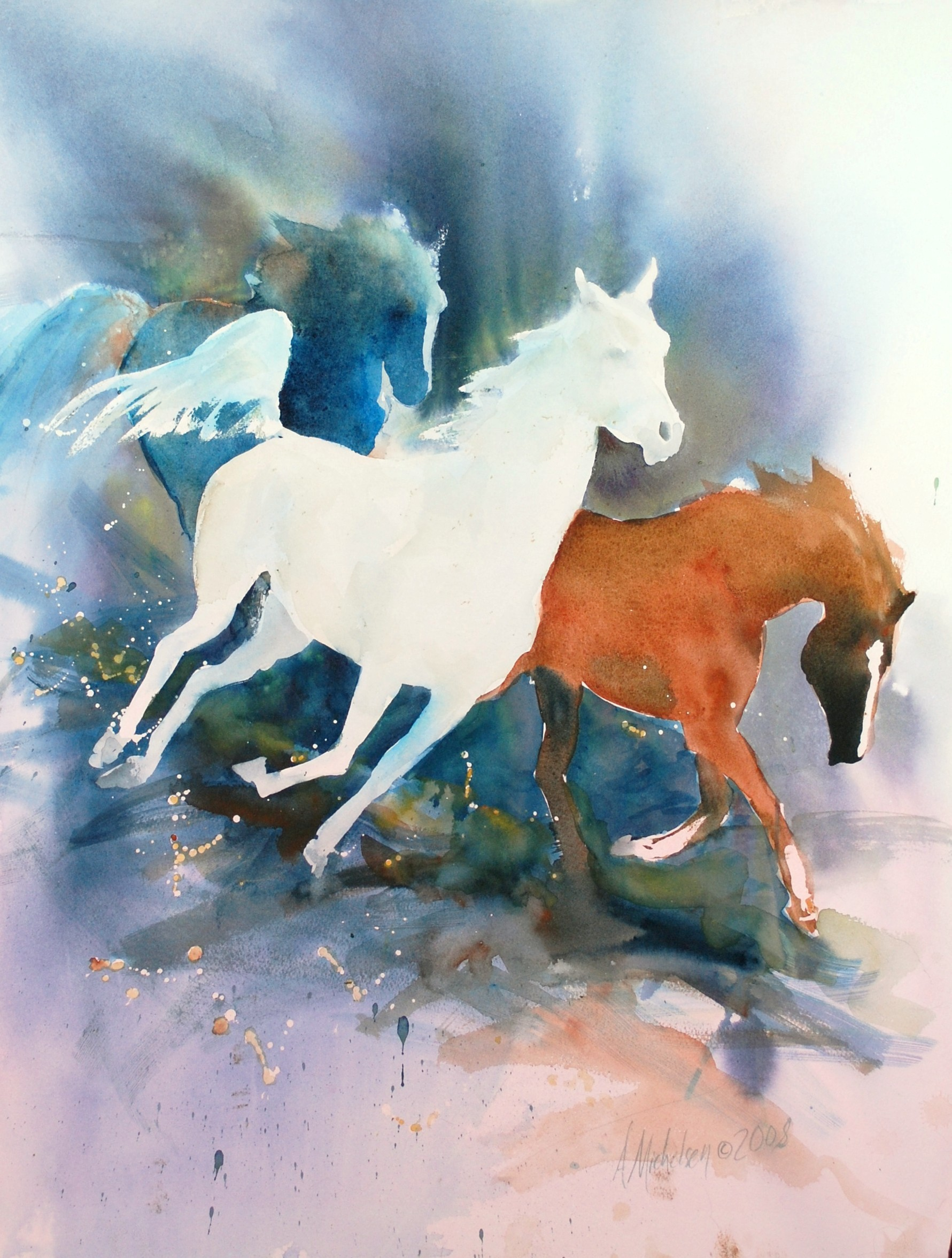 1781x2353 Animal Paintings Bright Spirit Studio