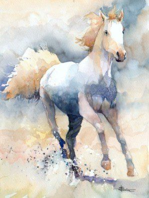 298x396 Stephane Heurion Watercolor Water + Color
