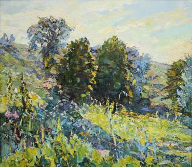 375x326 Great Impressionist Landscape Noon
