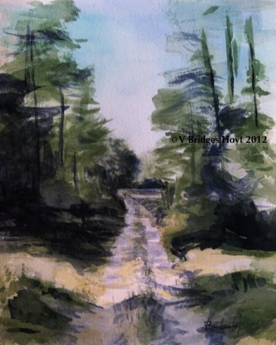 396x495 Impressionist Watercolor Paintings
