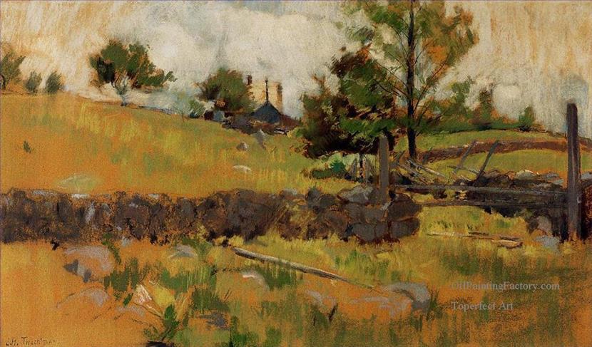 830x487 Oil Paintings Of 2 Spring Landscape Impressionist Landscape John