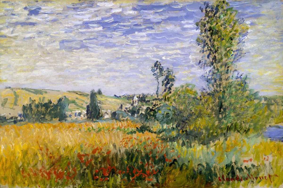 1200x800 The Genesis Of The Impressionist Landscape Widewalls