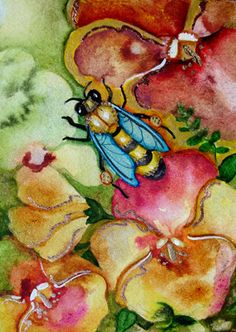236x332 135 Best Watercolor Insects Images In 2018