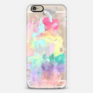 354x354 Modern Trendy Pink Teal Bright Watercolor From Casetify Iphone