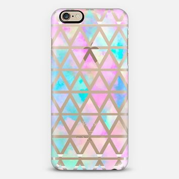 354x354 New Standard Pastel Aztec Watercolor From Casetify Iphone 6