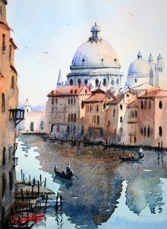 Watercolor Italy