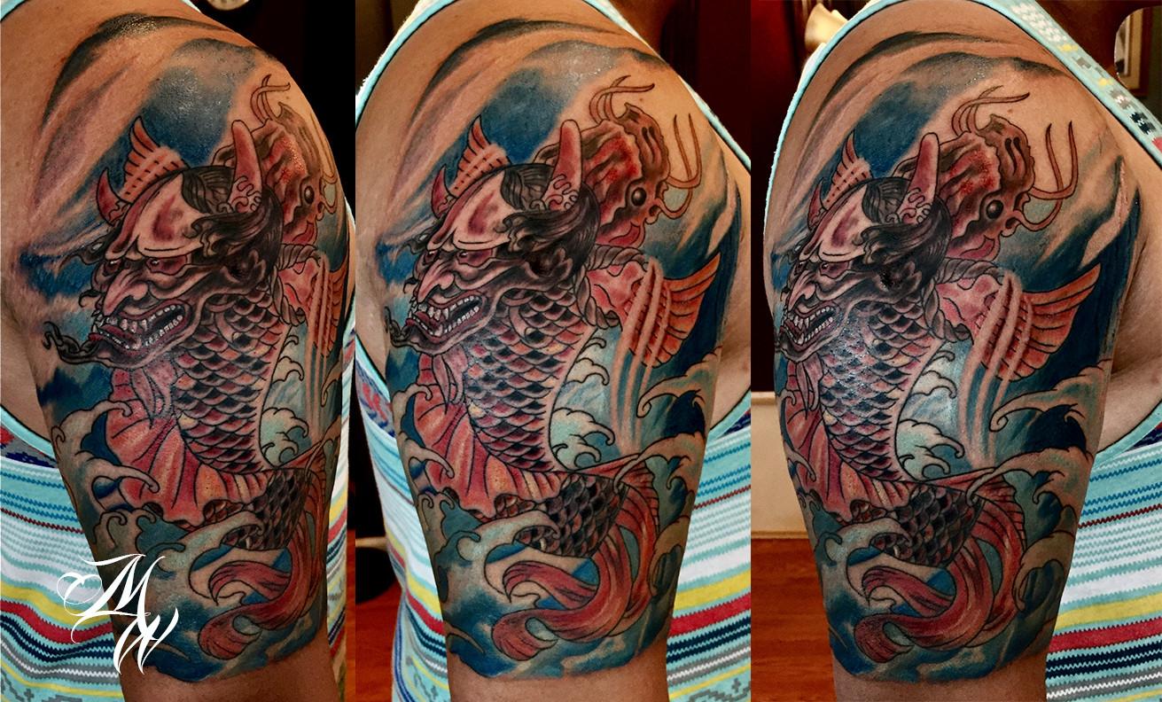 1311x792 Watercolor Style Tattoos Cypress Tattoo Custom Tattoo Shop