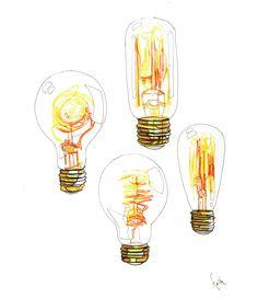 Watercolor Lamp