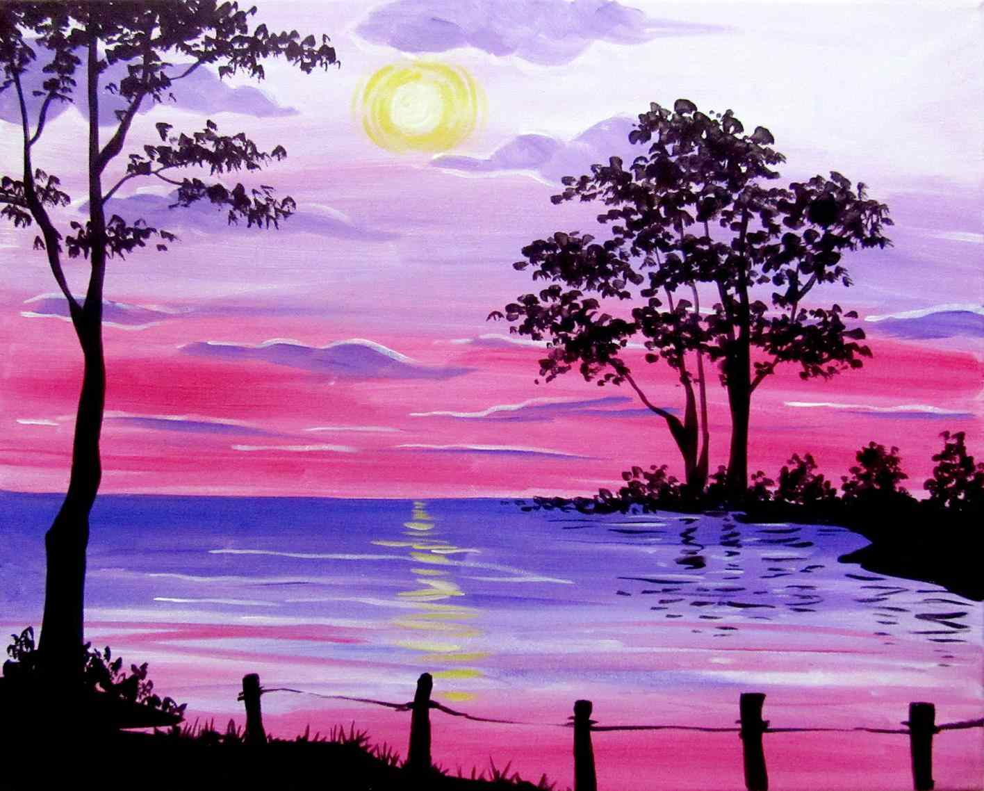 Watercolor Landscape Ideas At Getdrawings Free Download