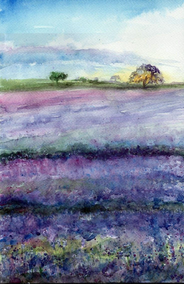 Watercolor Landscape Ideas At Getdrawings Com Free For Personal