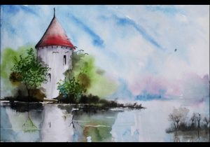 300x210 Simple Water Color Paintings Water Color Painting Ideas Simple