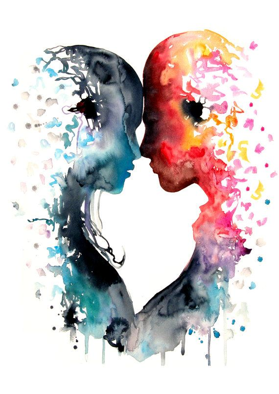 570x806 Love Me Tender Watercolor Art Print