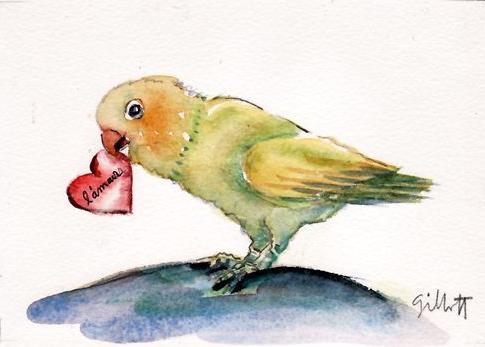 485x347 Paris Breakfasts Love Birds