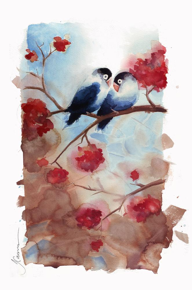 663x1000 Love Birds Tracey Cameron Creative