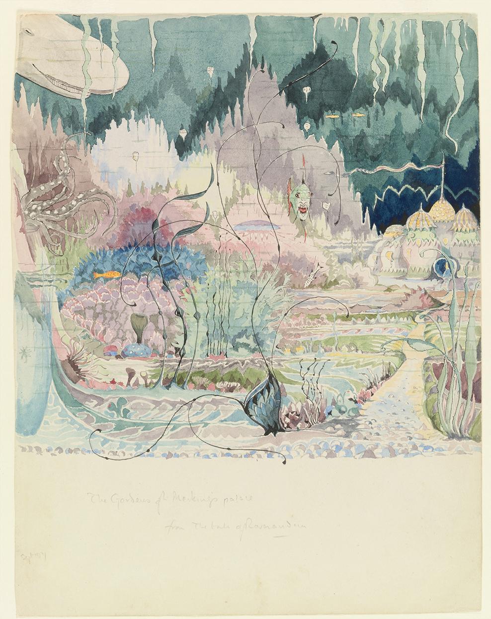 Watercolor Map Generator