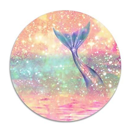 Watercolor Mermaid Tail
