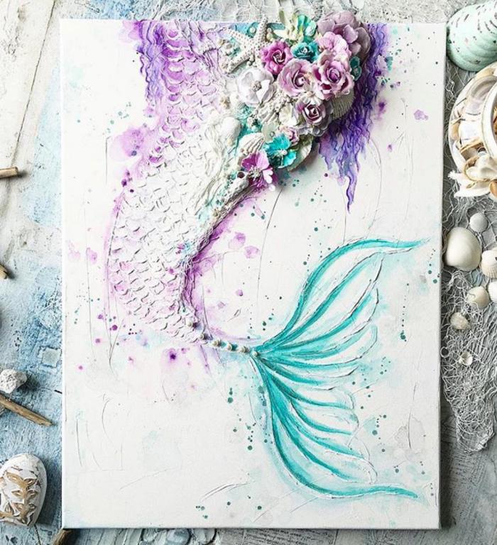 700x768 Instagram Top 10! In 2018 Canvas Ideas Mermaid