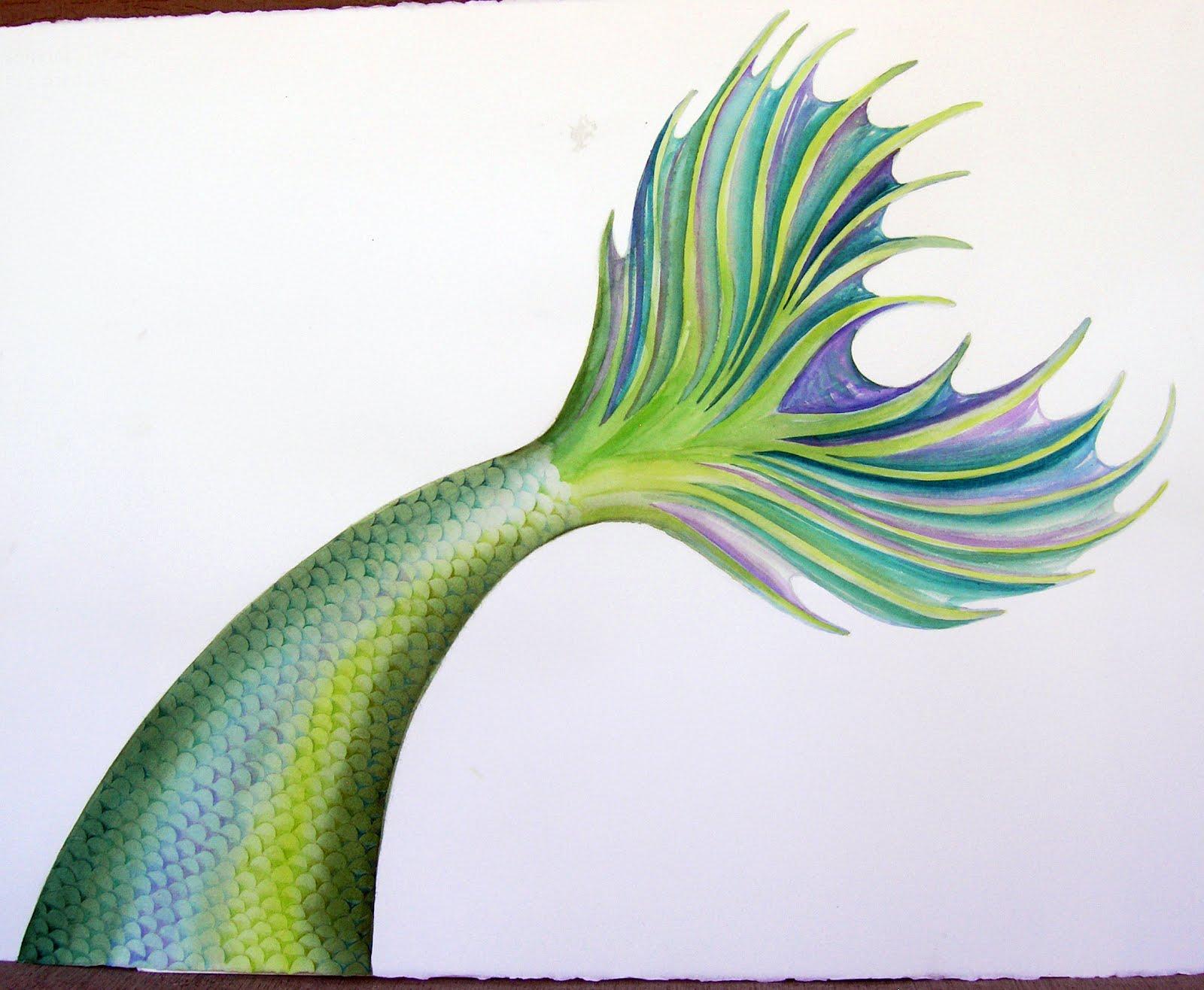 1600x1316 The Art Of Amanda Reisinger Mermaid Watercolor