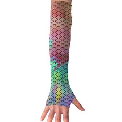 425x425 Onebqwiarm Watercolor Mermaid Tail Patterns Athletic