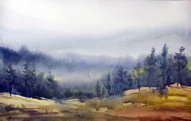 375x239 Forest Amp Foggy Mountain Landscape