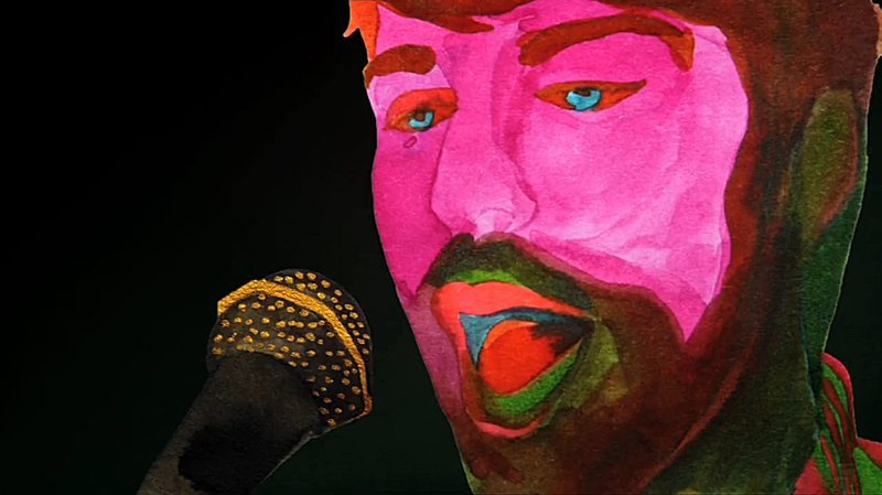 800x449 A Hand Painted, Psychedelic, Watercolor Music Video For Breakbot