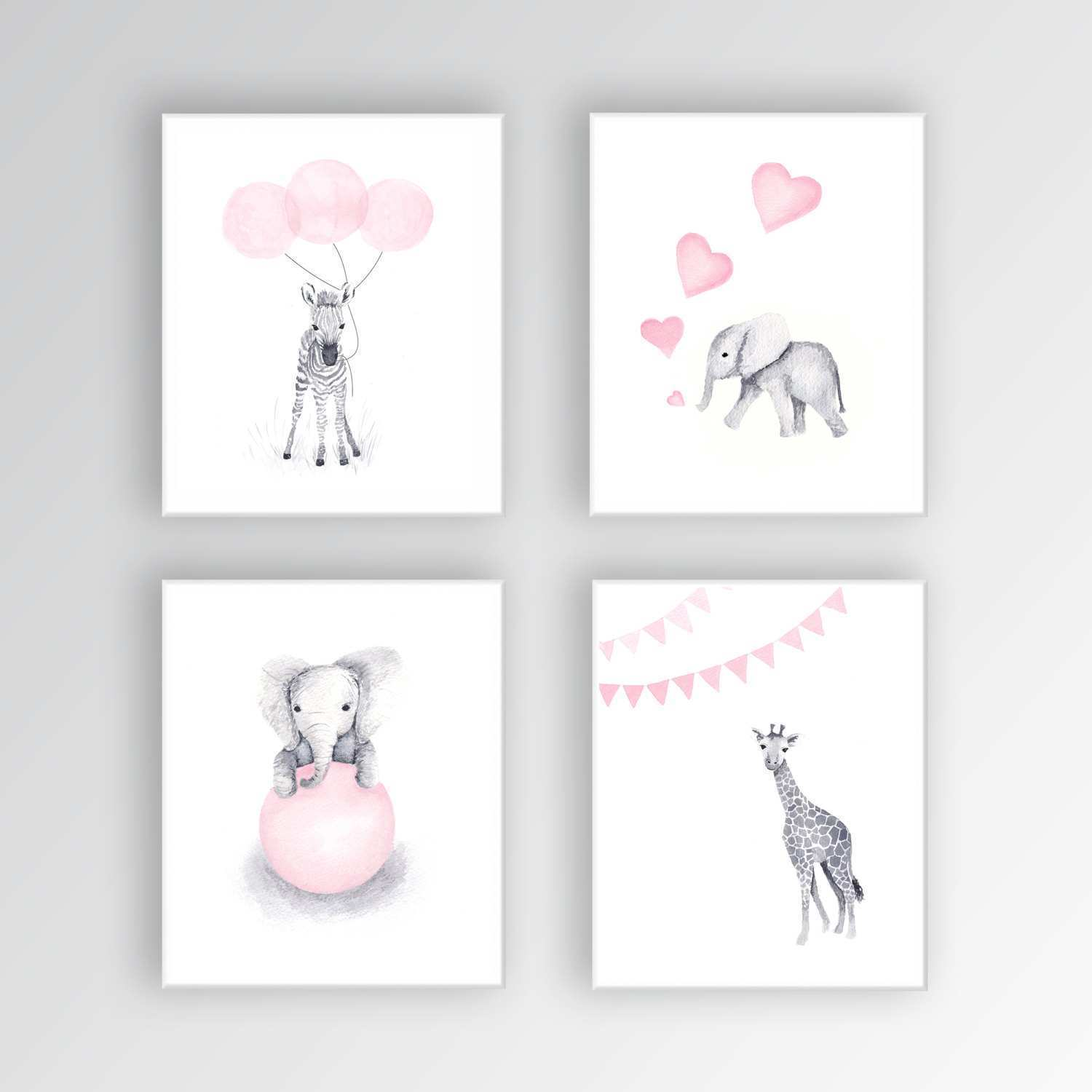 1500x1500 Baby Room Paintings On Canvas Beautiful Zebra Canvas Art Baby Girl
