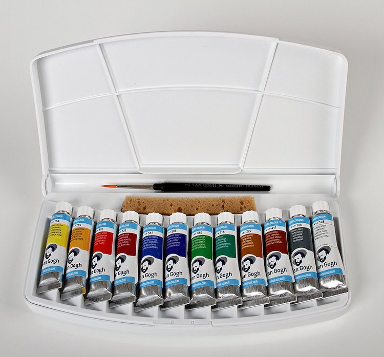 Watercolor Paint Tubes