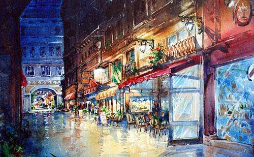 Watercolor Painting Designs
